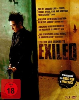 Exiled - Uncut Mediabook Edition  (DVD+blu-ray)