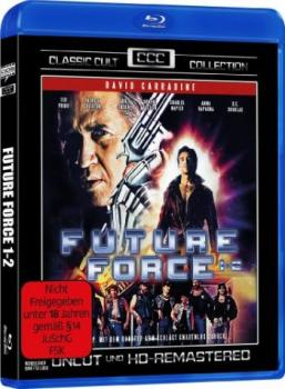 Future Force 1+2 - Classic Cult Collection  (blu-ray)