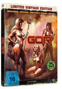 GOR 1&2 - Limited Mediabook-Edition (DVD+blu-ray)
