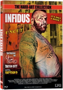Infidus - Uncut Hard Art Mediabook Collection  (DVD+blu-ray) (B)