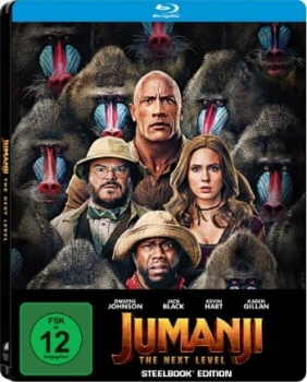 Jumanji - The Next Level - Limited Steelbook Edition (blu-ray)