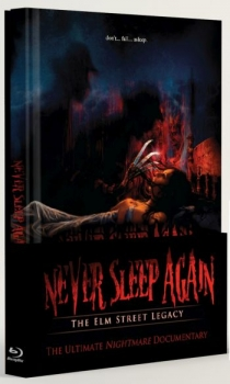 Never Sleep Again 1+2 - Uncut Mediabook Edition + Sammelschuber  (blu-ray)