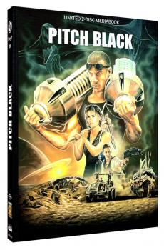 Pitch Black - Planet der Finsternis - Limited Mediabook Edition (DVD+blu-ray) (A)
