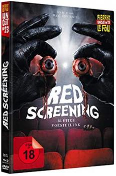 Red Screening - Blutige Vorstellung - Uncut Mediabook Edition (DVD+blu-ray)