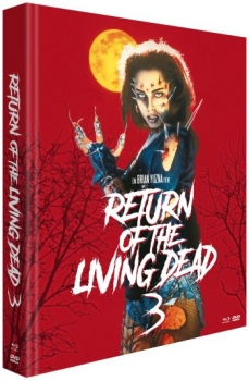 Return of the Living Dead 3 - Unrated Mediabook Edition  (DVD+blu-ray)