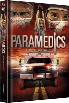 Parademics - Slashed - Aufgeschlitzt - Uncut Mediabook Edition  (DVD+blu-ray) (Cover Red)