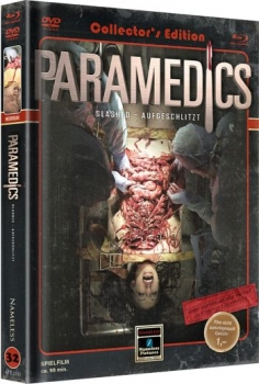 Parademics - Slashed - Aufgeschlitzt - Uncut Mediabook Edition  (DVD+blu-ray) (Cover Retro)