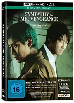 Sympathy for Mr. Vengeance - Uncut Mediabook Edition  (4K Ultra HD+blu-ray)