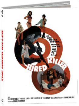 Tecnica di un omicidio - Hired Killer - Uncut Mediabook Edition  (blu-ray) (D)