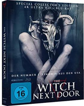 Witch Next Door, The - Uncut Mediabook Edition  (4K Ultra HD+blu-ray)
