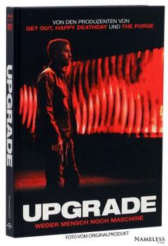 Upgrade - Uncut Mediabook Edition  (DVD+blu-ray) (Cover Rot)