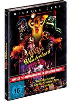 Willys Wonderland - Uncut Mediabook Edition  (blu-ray)