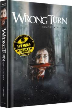 Wrong Turn 1-6 - Uncut Mediabook Edition  (blu-ray) (A)