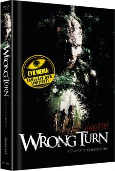 Wrong Turn 1-6 - Uncut Mediabook Edition  (blu-ray) (C)