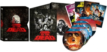 Zombie - Dawn of the Dead - 4er Collectors Box + Figur  (blu-ray)