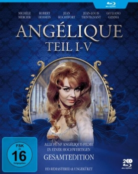 Angelique I-V - Gesamtedition (blu-ray)