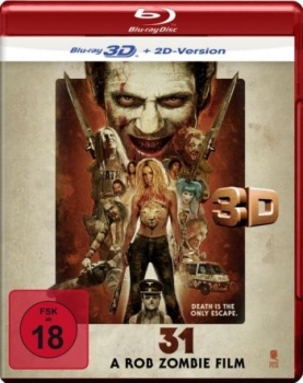 31 - A Rob Zombie Film 3D (3D blu-ray)