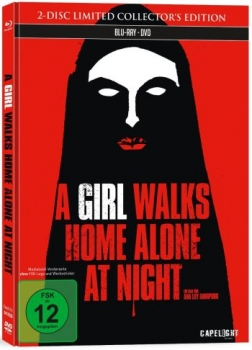 A Girl Walks Home Alone at Night - Limited Mediabook Edition  (blu-ray)