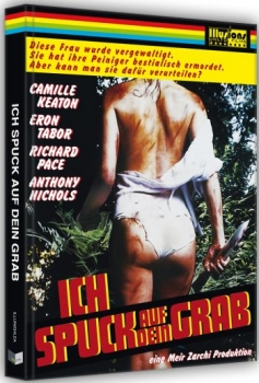 I spit on your Grave - Ich spuk auf dein Grab (1978) - Uncut Mediabook Edition  (DVD+blu-ray) (A)
