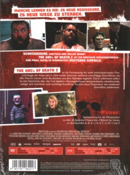 ABCs of Death 2, The - Uncut Mediabook Edition  (DVD+blu-ray)