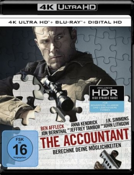 Accountant, The  (4K Ultra HD)