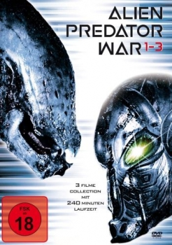 Alien Predator War 1-3