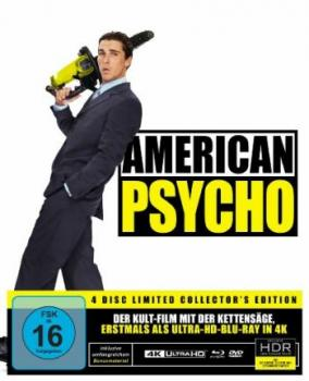 American Psycho - Limited Collectors Edition  (DVD+blu-ray+4K Ultra HD)
