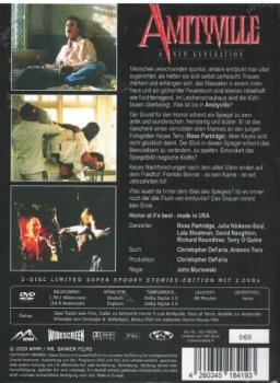 Amityville Horror 7 - A New Generation - Uncut Mediabook Edition