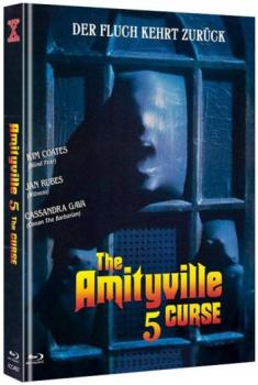 Amityville 5, The - The Curse - Uncut Mediabook Edition  (DVD+blu-ray) (B)