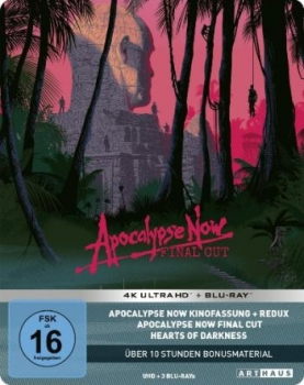 Apocalypse Now - Limited Steelbook Edition  (4K Ultra HD)