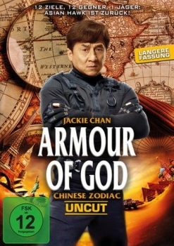Armour of God - Chinese Zodiac - Uncut!