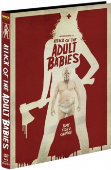 Attack of the Adult Babies - Uncut Mediabook Edition  (DVD+blu-ray) (A)