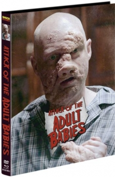 Attack of the Adult Babies - Uncut Mediabook Edition  (DVD+blu-ray) (C)