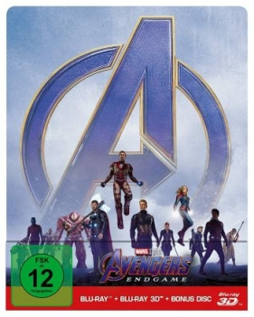 Avengers, The - Endgame 3D - Limited Steelbook Edition  (3D blu-ray)