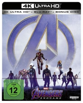Avengers, The - Endgame - Limited Steelbook Edition  (4K Ultra HD)