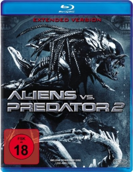 Aliens vs. Predator 2 - Unrated/Extended (blu-ray)