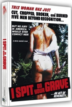 I spit on your Grave - Ich spuk auf dein Grab (1978) - Uncut Mediabook Edition  (DVD+blu-ray) (B)