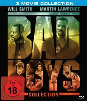 Bad Boys 1-3 - Uncut Edition  (blu-ray)