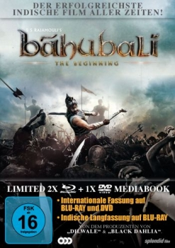 Bahubali - The Beginning - Limited Mediabook Edition (DVD+blu-ray)