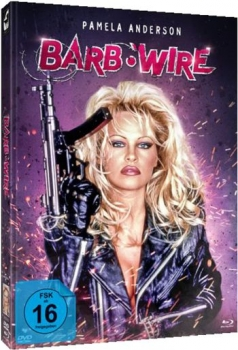Barb Wire - Unrated Mediabook Edition  (DVD+blu-ray) (B)