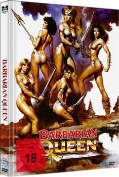 Barbarian Queen - Uncut Mediabook Edition  (DVD+blu-ray)