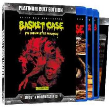 Basket Case 1-3 - Uncut Platinum Edition  (DVD+blu-ray)