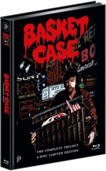 Basket Case 1-3 - The Complete Trilogy - Uncut Mediabook Edtiion  (DVD+blu-ray)