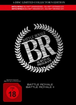 Battle Royale 1+2 - Uncut Mediabook Edition  (blu-ray)