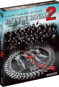 Battle Royale 2 - Uncut Mediabook Edition  (DVD+blu-ray) (B)