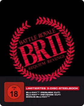 Battle Royale 2 - Uncut Steelbook Edition  (blu-ray)