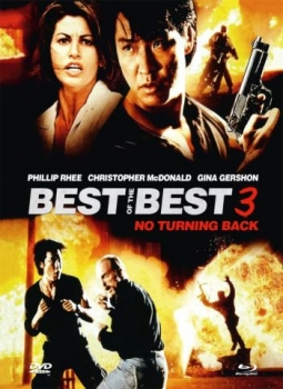 Best of the Best 3 - No Turning Back - Uncut Mediabook Edition  (DVD+blu-ray) (B)