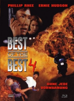 Best of the Best 4 - Without Warning - Uncut Mediabook Edition  (DVD+blu-ray) (A)