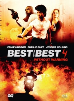Best of the Best 4 - Without Warning - Uncut Mediabook Edition  (DVD+blu-ray) (B)