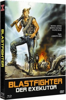Blastfighter - Der Exekutor - Eurocult Mediabook Collection (DVD+blu-ray) (B)